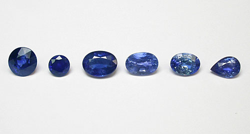 Be treated sapphires