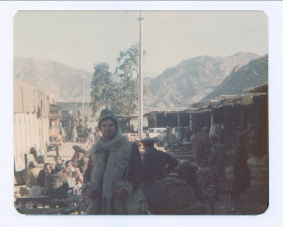 Peter on the Afghan-Pakistan border—1976
