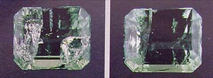 emerald, emerald enhancements, Opticon, gemology, oil treatment