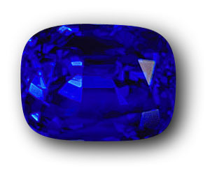 21.09 carats of Burmese midnight-blue mystery. This stone, an example of Mogok's finest product, was offered in the late 1980s in Bangkok for $10,000/ct. wholesale. Photo: Adisorn Studio, Bangkok