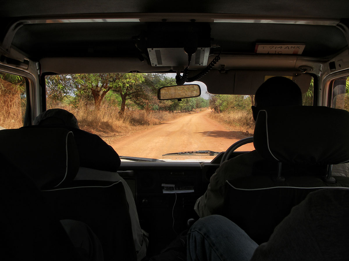 The road from Songea to Tunduru