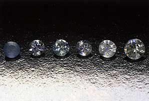 surface diffusion, blue sapphire, surface diffusion treated, diffusion treatment, Kanchanaburi sapphire, heat treatment